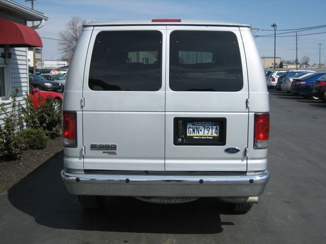8 - 12 Passenger Van Back view