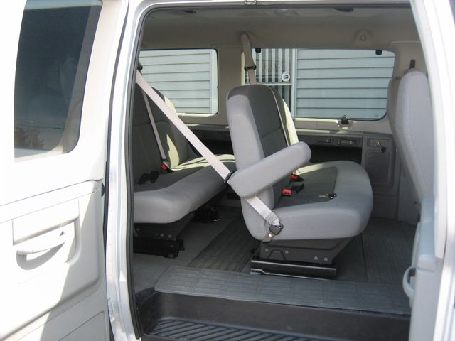8 - 12 Passenger Van side view